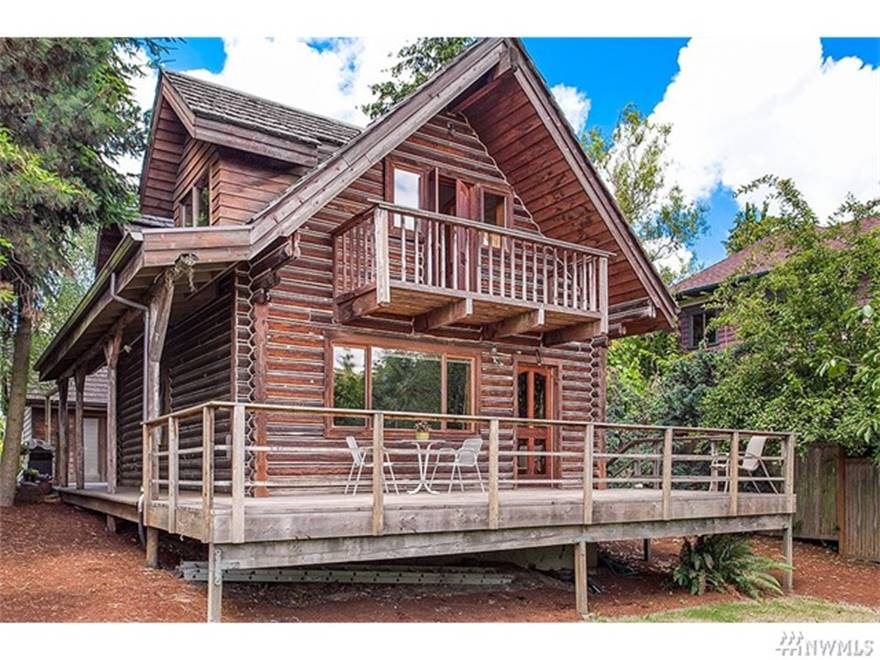 Beacon HIll log cabin | Virginia Calvin | Seattle Real Estate